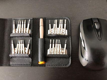 Brand new 25 in 1 Small Screwdriver Set