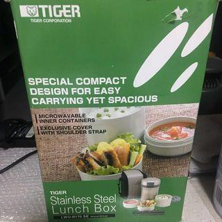 TIGER Stainless Steel Lunch Box LWU-B170 SE