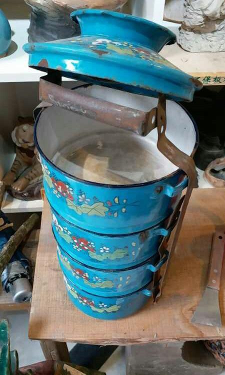 舊時的燒青外賣盒