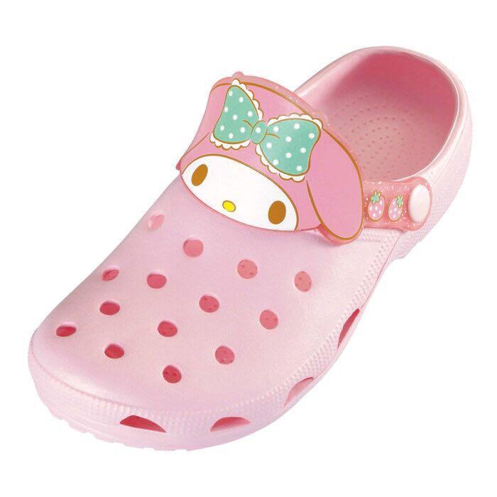 日本直送 日版 sanrio休閒鞋 涼鞋 拖鞋 Hello Kitty Kuromi My Melody pc狗