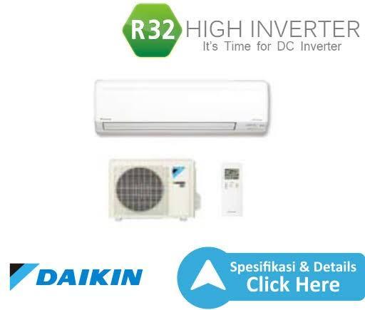 AC Daikin 1/2 PK R32 baru bisa cash dan kredit plus instalasinya