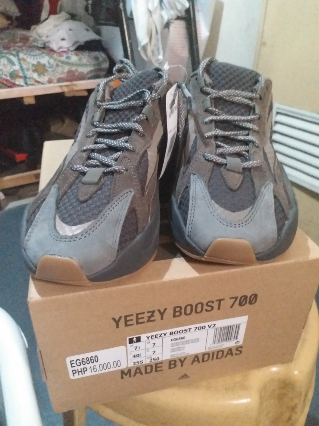 0729aa591 Adidas Yeezy Boost 700 v2 Geode 7.5US, Men's Fashion, Footwear, Sneakers on  Carousell