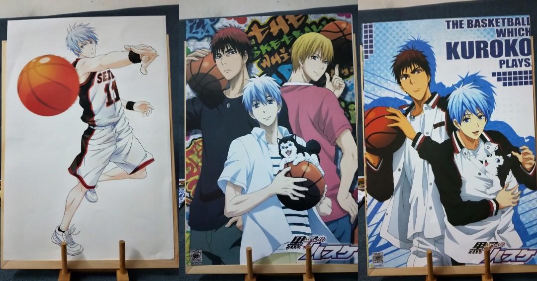 Anime Poster - Kuroko no Basuke