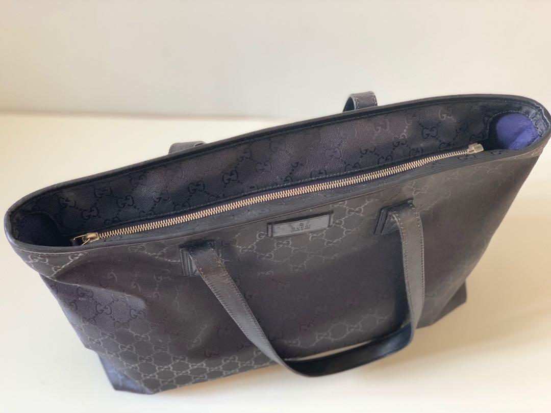 26f38f4cb Authentic Gucci PVC Imprime Shopper Tote Bag, Women's Fashion, Bags ...