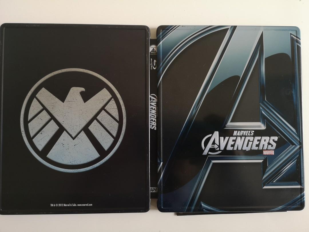 Avengers steelbox 絕版 復仇者 鐵盒