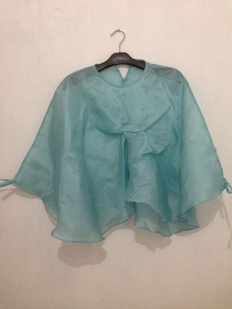 blouse blue sky