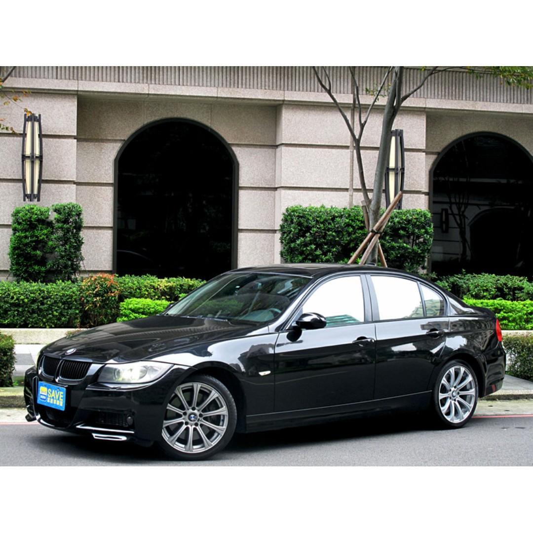 稀有車系BMW 320D M3包 四出尾管 LCI後車廂蓋 回去不用再花錢 SAVE認證車資料齊全