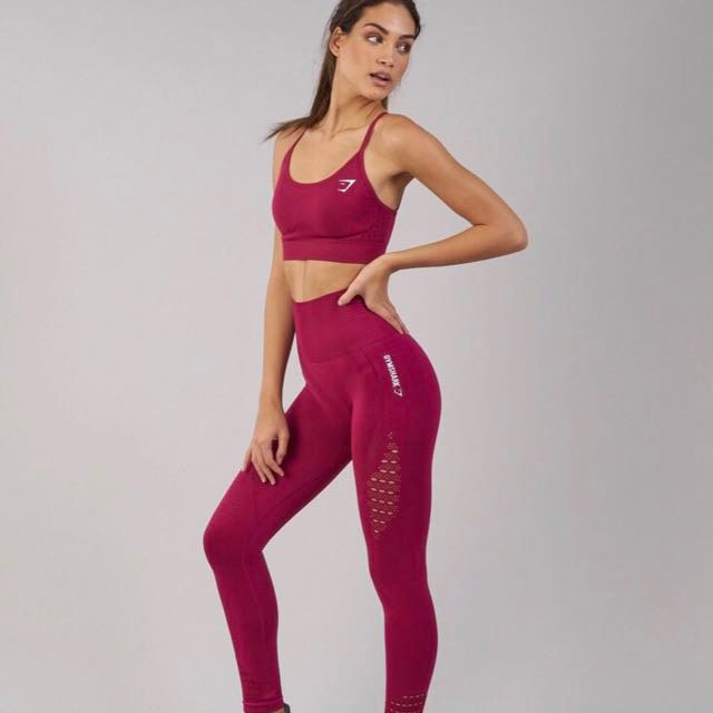 0ebd193efae BNWT Gymshark Seamless Energy High Waisted Leggings