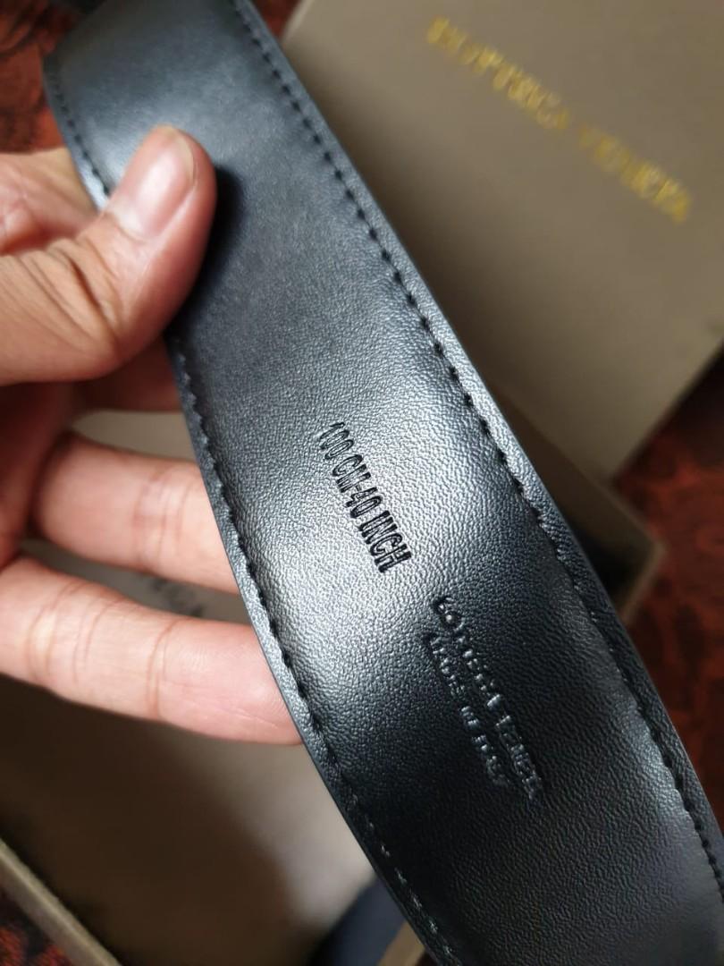 Bottega Veneta Original Men's Belt With Box
