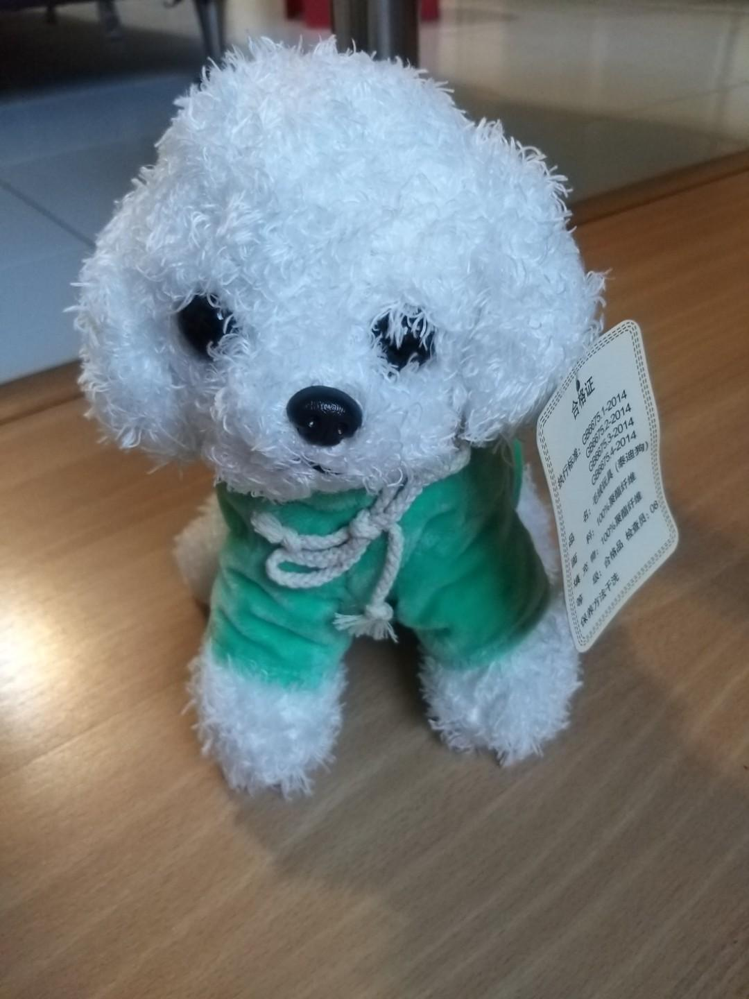 Brand new with tag soft toy dog