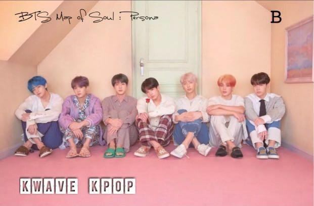 BTS 방탄소년단 [MAP OF SOUL :PERSONA] FUJI FILM PRINT PHOTOGRAPH -SELECT OPTS A /B /C