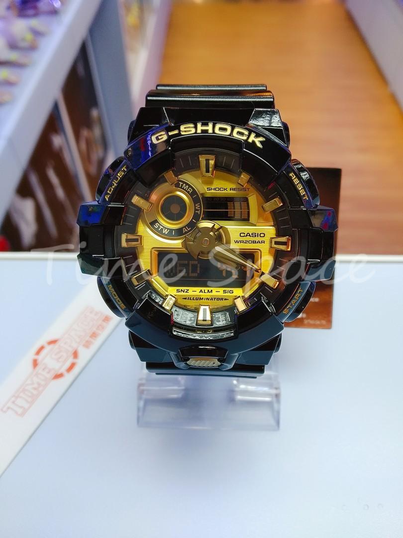 CASIO G-SHOCK GA-710GB-1A