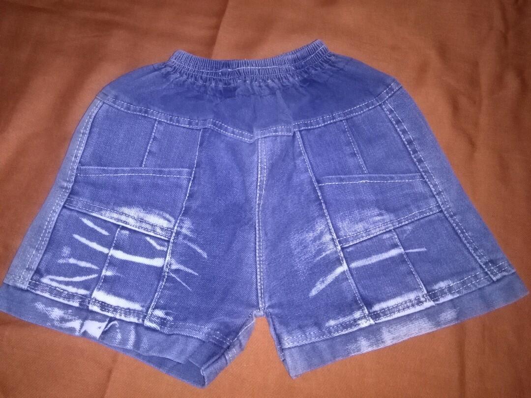 Celana pendek jeans anak laki