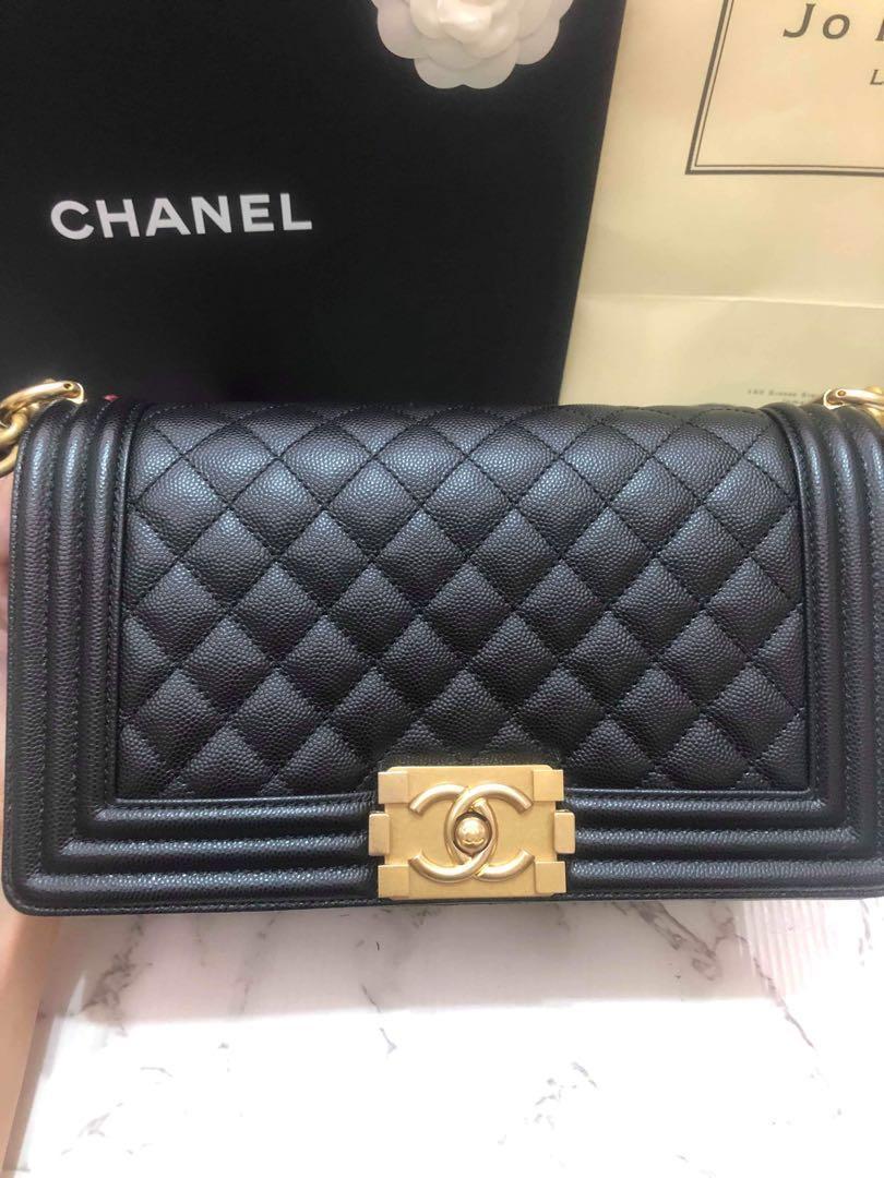 Chanel Boy Old Medium Bag