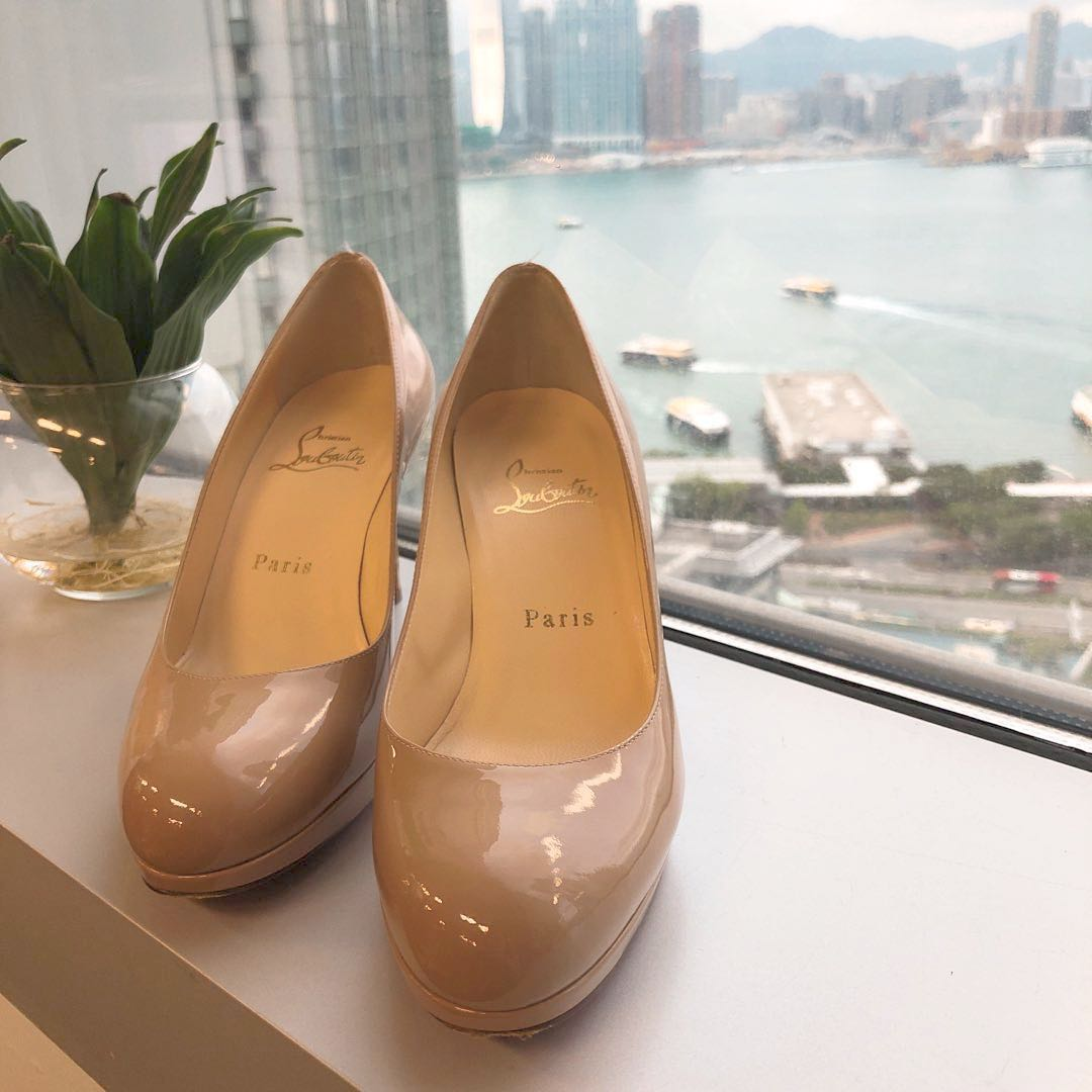 87e324f7b62e Christian louboutin Simple Pump Collection patent leather silhouette ...