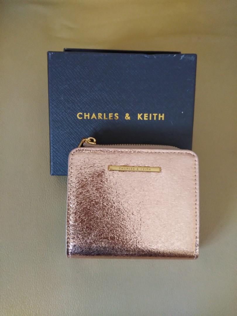 CK wallet glitter