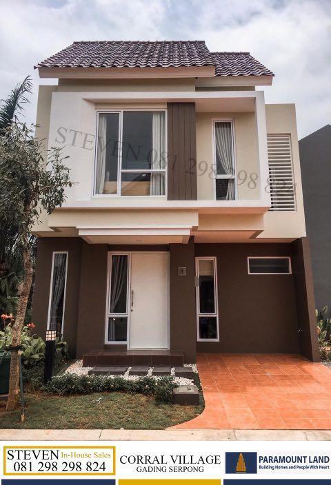 Corral - Rumah Murah 2 Lantai di Gading Serpong, DP 5% langsung akad