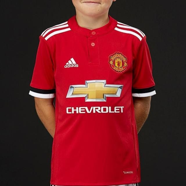 b11e27432ad Brand New Authentic Adidas Manchester United 17 18 Climacool Kids ...