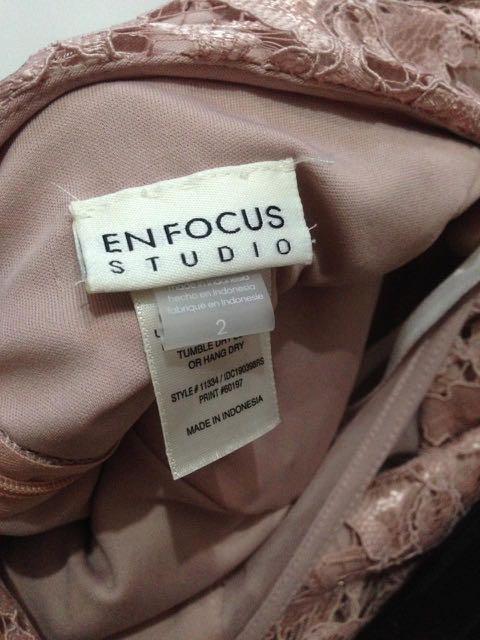 Dress Enfocus Studio Peach NEW
