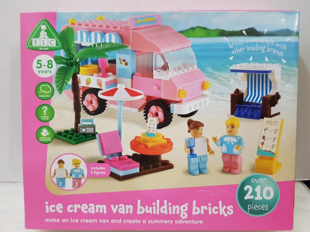 Elc Ice Cream Truck Building Bricks - 141610