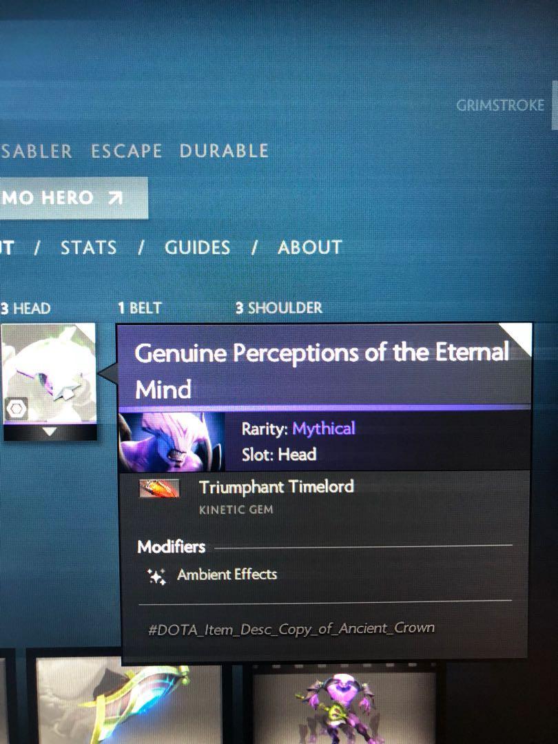 Genuine perceptions of the eternal mind