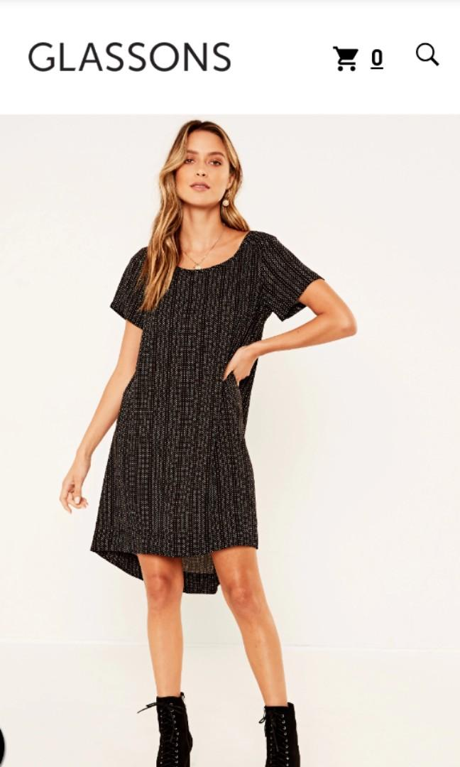 GLASSONS High-Low dress size 12