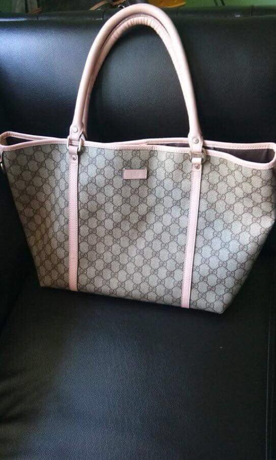 2731976195e Gucci Joy Tote Coated Canvas Medium, Women's Fashion, Bags & Wallets,  Handbags on Carousell