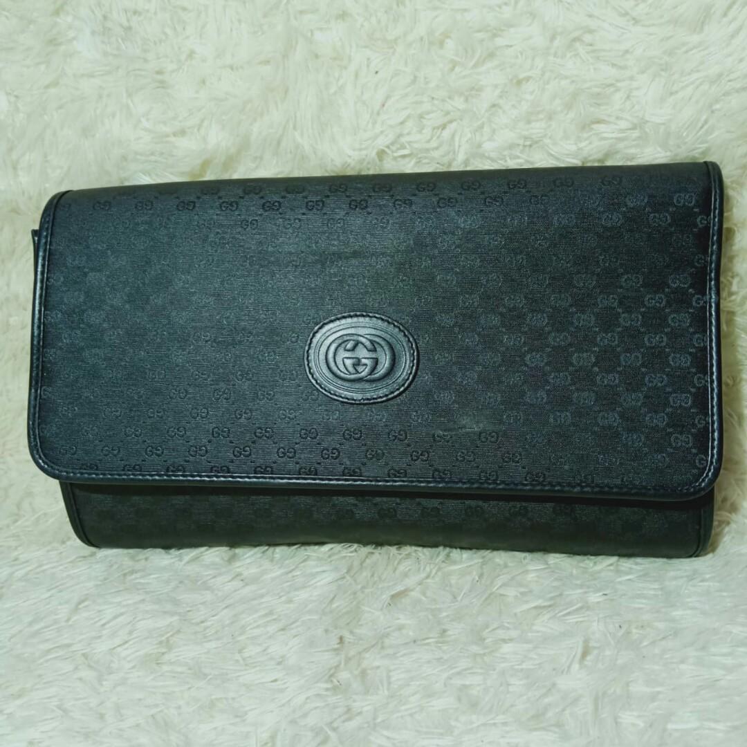 Gucci Women's Wallet Hitam Original