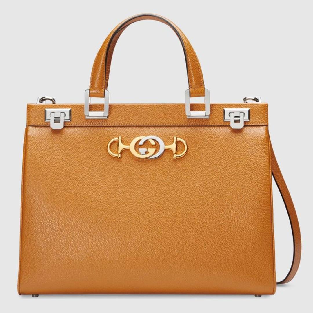 1360fbd93 Gucci Zumi grainy leather medium top handle bag, Women's Fashion, Bags &  Wallets, Handbags on Carousell