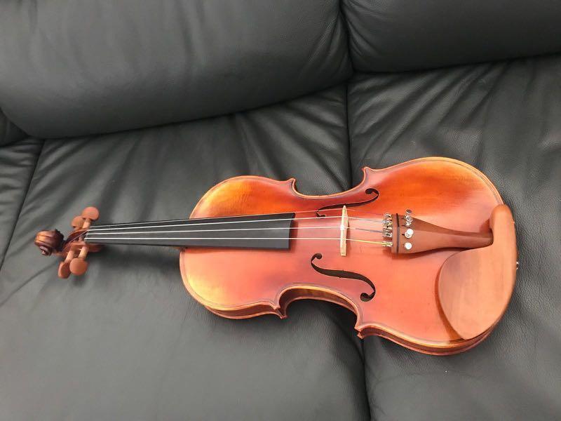 Hand-made Solo String Violin 2015 7/8 size 手製木小提琴