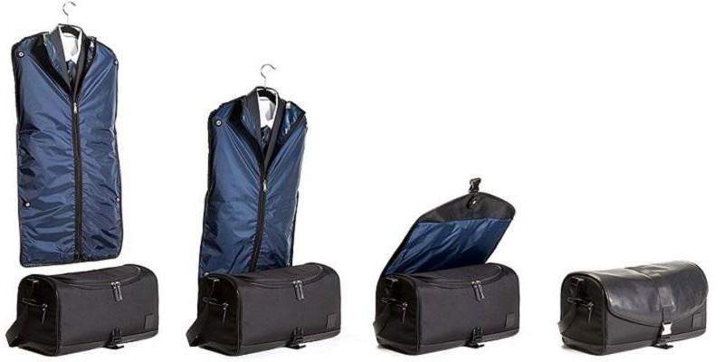 Impressed Bag Co. Preston Garment and Duffel Bag - Black