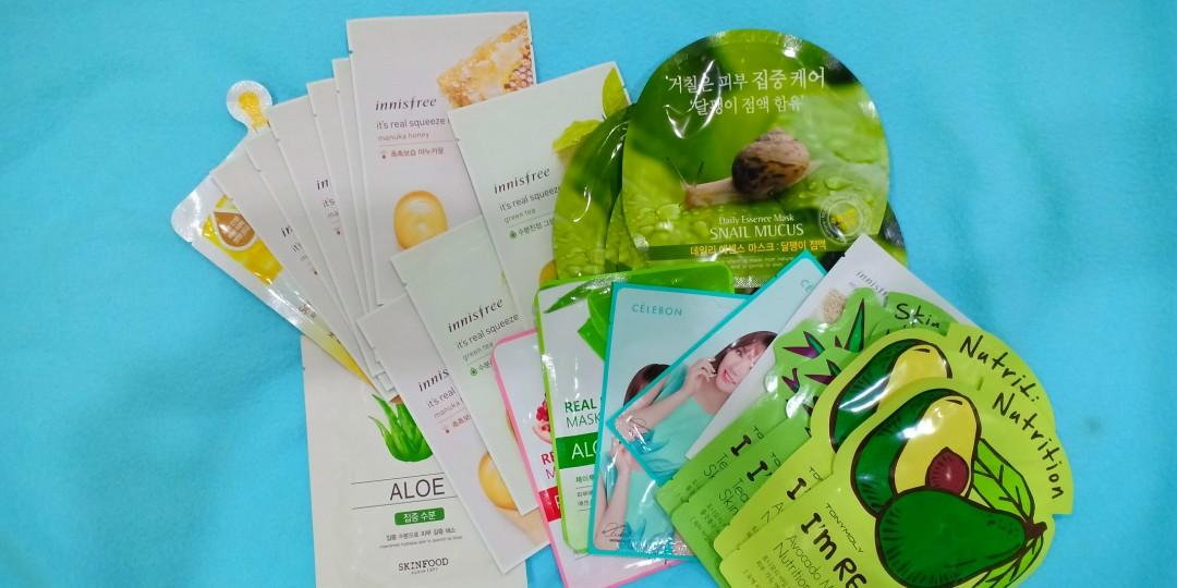 Innisfree it' real squeeze mask
