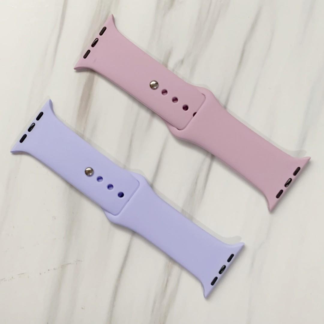 [INSTOCK] Apple Watch Silicone bands for casual sports wear series 1-4, 38mm/40mm/42mm/44mm iwatch size