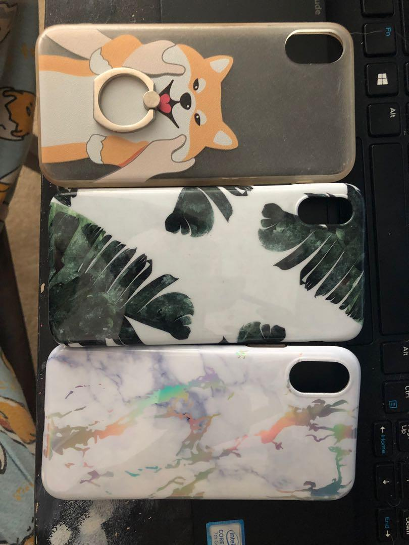 iPhone X cute good quality cases