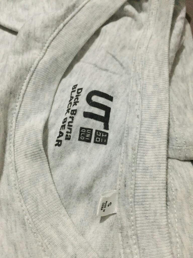 Kaos Zara Uniqlo Armani Exchange