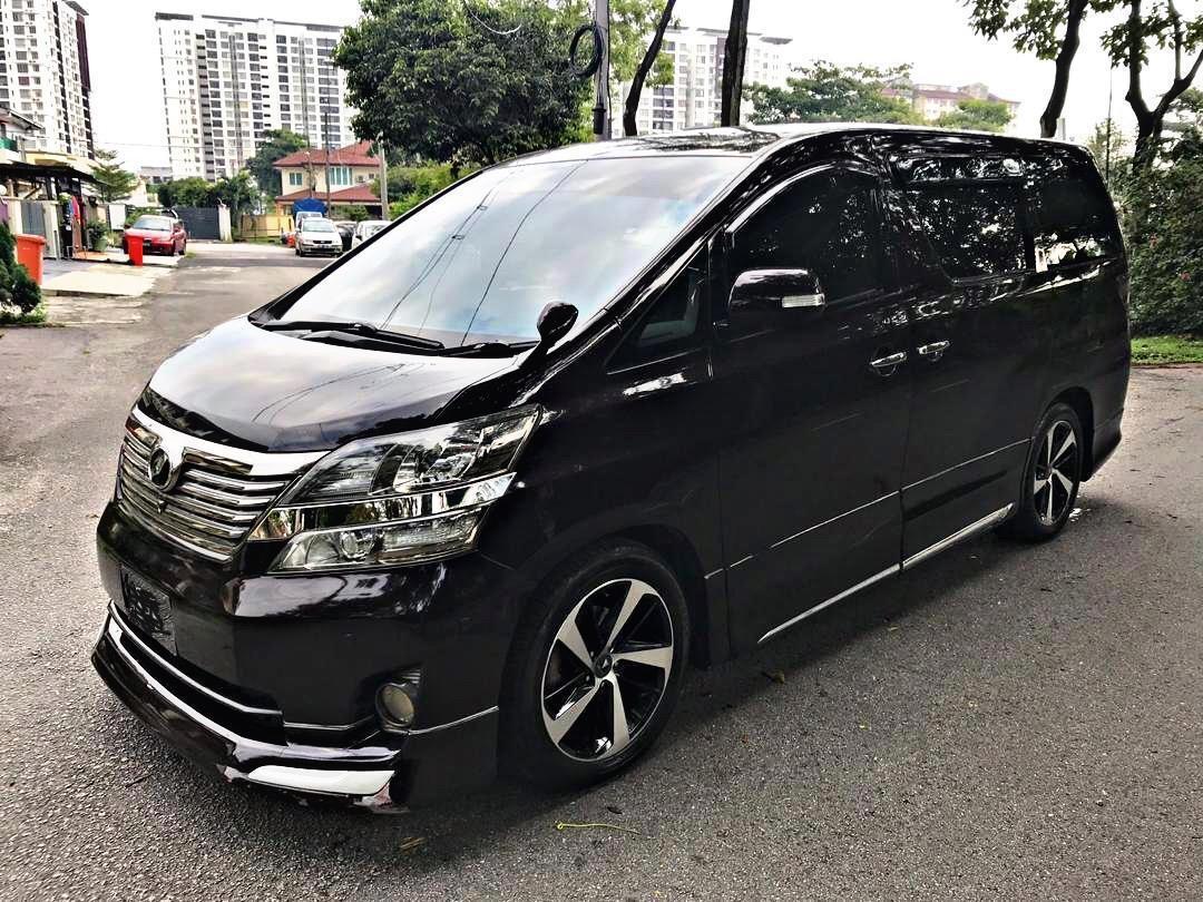 Kereta Sewa CRV Vellfire City Vios Myvi Axia Hiace Shah Alam Klang