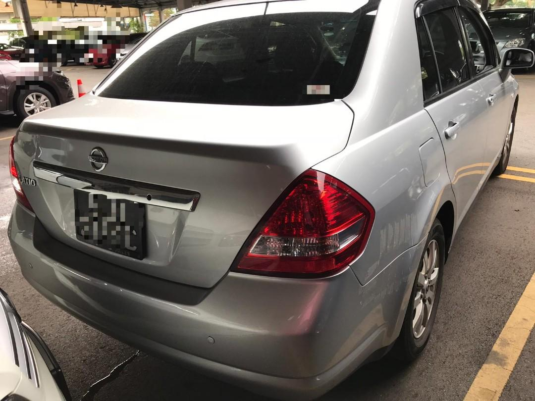 *Kete chill² je🥶🥶* Year 2009 April Nissan Latio 1.5L🇸🇬🇸🇬🇸🇬 4 door Silver colour Mileage 109,000Km 💰4.5k💰 JB Wasap.my/60126373536