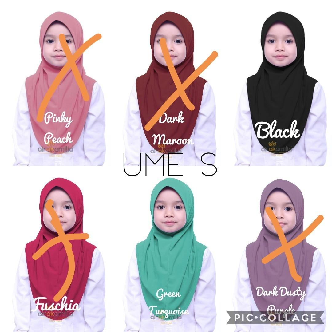 Kids Instant Tudung