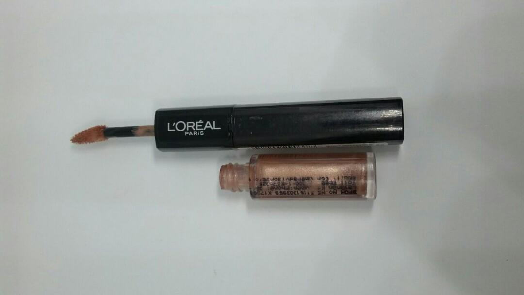 L'Oreal Paris Infallible 2 Step Lip Color - 121 Lasting Ginger