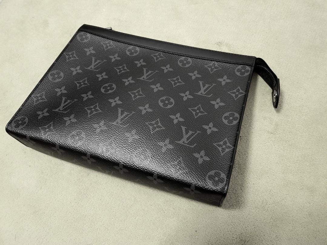 7f7c53d1a94 Louis Vuitton Men's Pochette Voyage Clutch, Luxury, Bags & Wallets ...