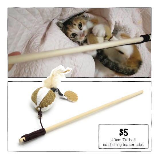 [Promo: 3 for $10] 😂 they are just cat teaser sticks