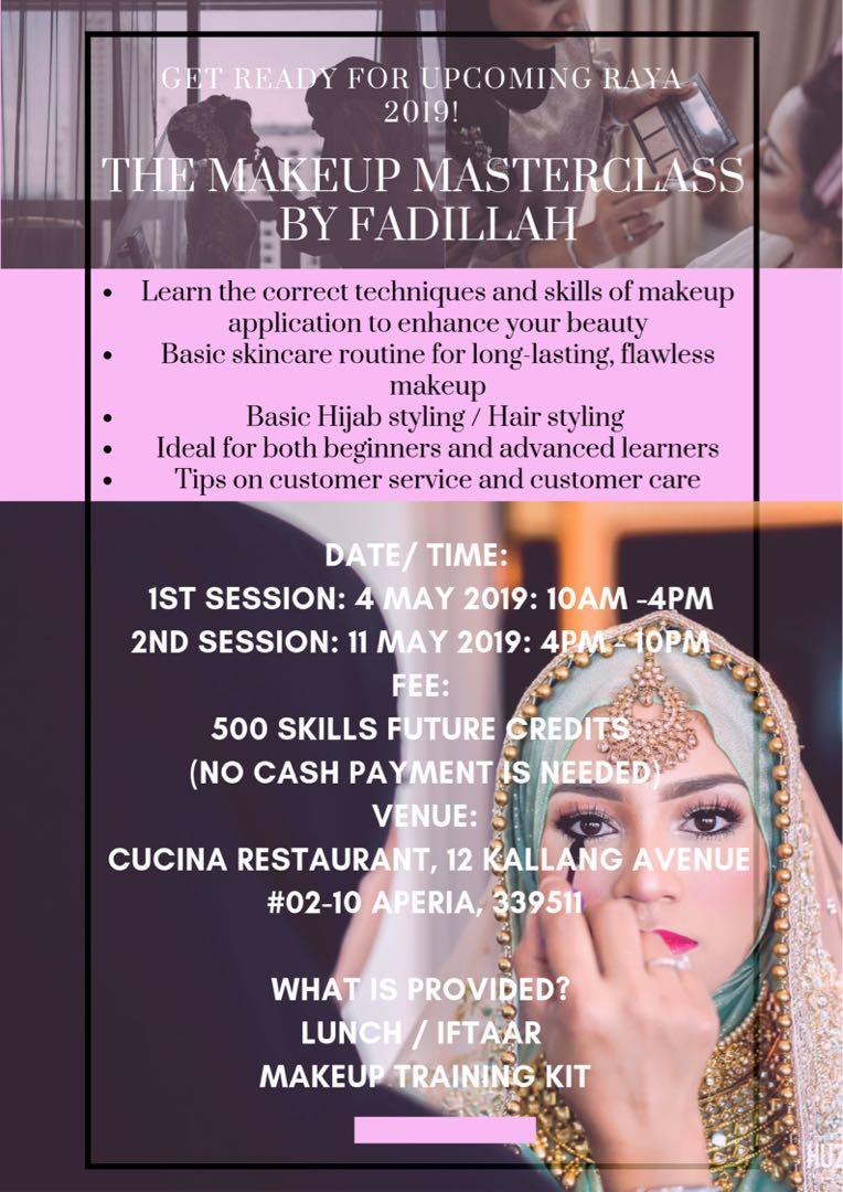 Makeup Workshop, Health & Beauty, Makeup on Carousell