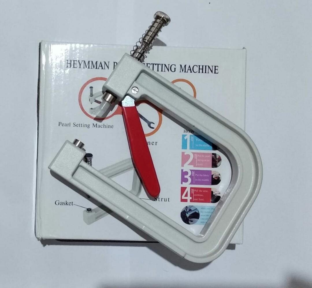 Mesin Manual Alat Pasang Mutiara Press Hand Craft