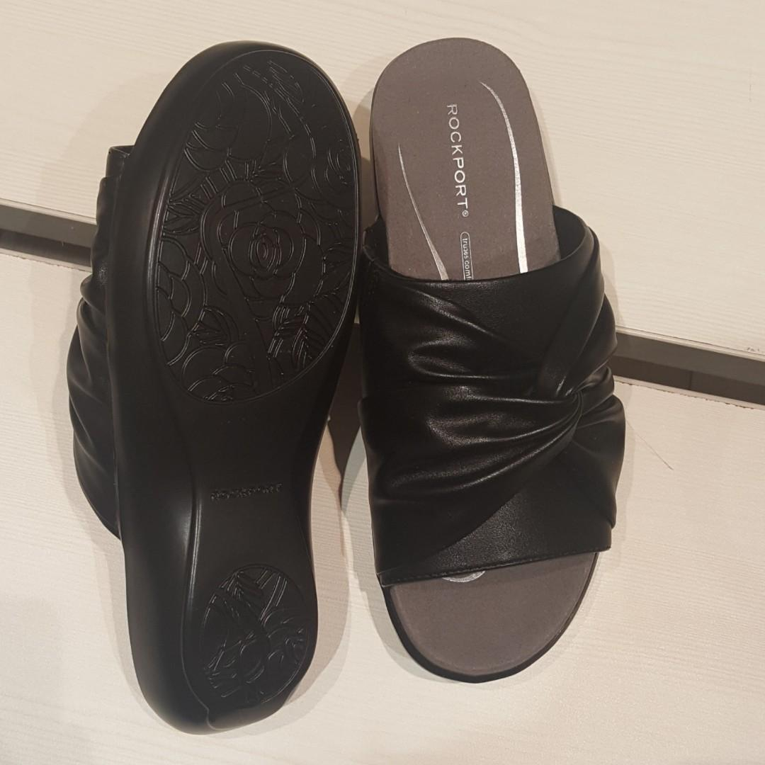 New - Rockport Rozelle knot slide Sandals