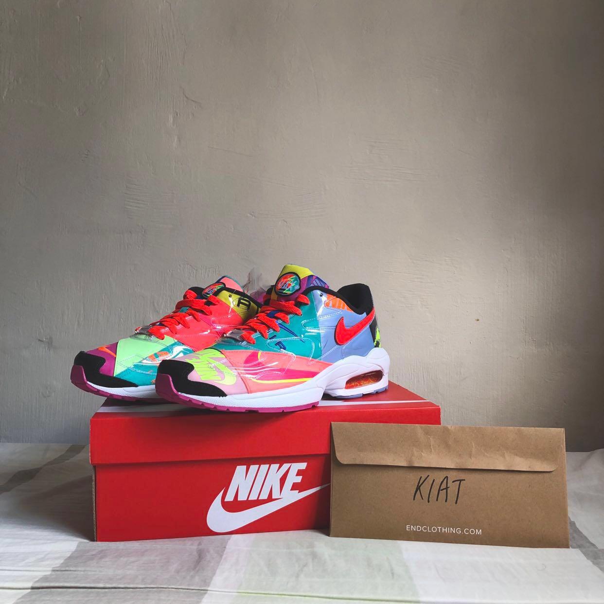 detailed look c7e49 88e6e Nike Air Max2 Light Atmos, Men s Fashion, Footwear, Sneakers on ...