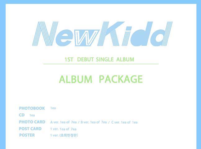 [PO] Newkidd Debut Single Album - NEWKIDD