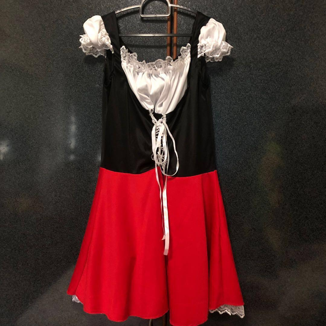 pre-love red riding hood costume