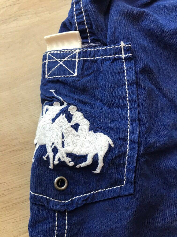 Preloved Kids Polo Ralph Boys Shorts/Berms / Swim Shorts Size 2T / 2. ( Blue)