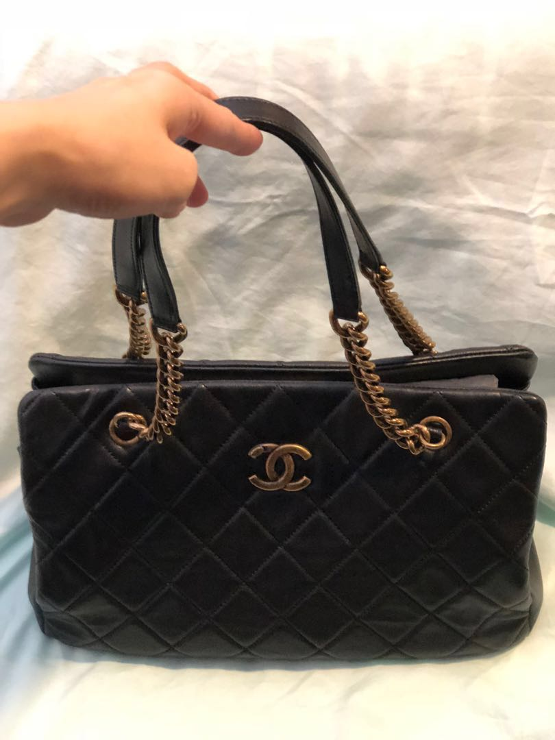 25dfb123cc74 Price revised!! Chanel Cruise CC crown tote bag
