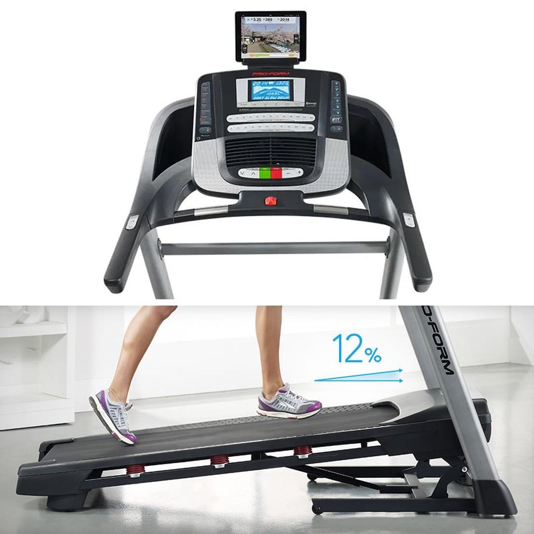 """ProForm"" Sport 7.0 Foldable Treadmill [Black/Grey] (PFTL79014)"